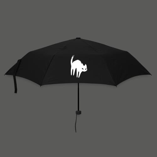 Weiße Katze - Regenschirm (klein)