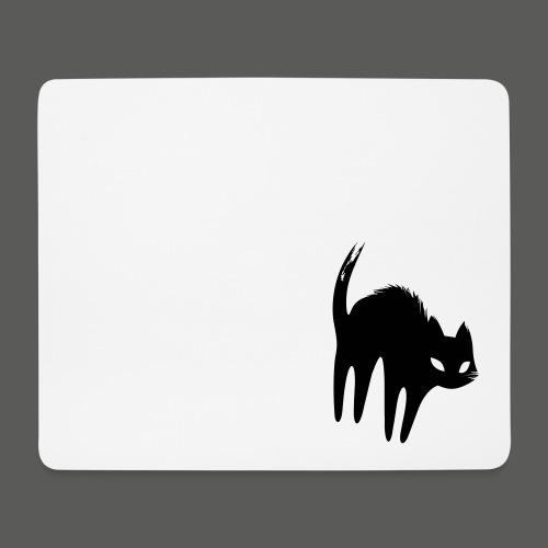 Schwarze Katze - Mousepad (Querformat)