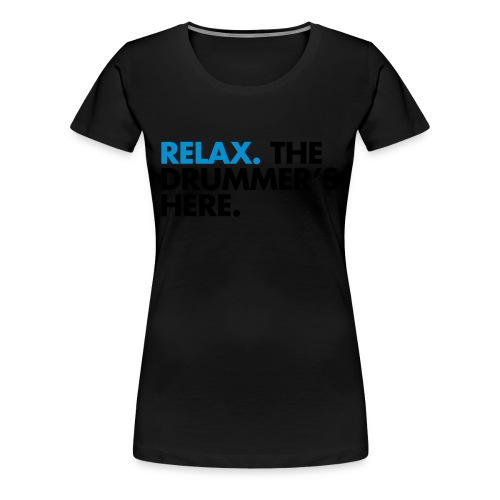 Drummer (Womens) - Women's Premium T-Shirt