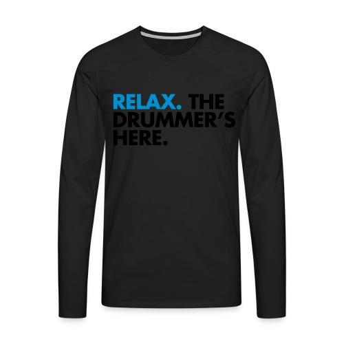 Drummer - Longsleeve (Mens) - Men's Premium Longsleeve Shirt