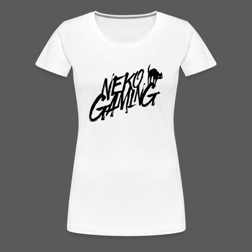 Neko Gaming schwarz - Frauen Premium T-Shirt