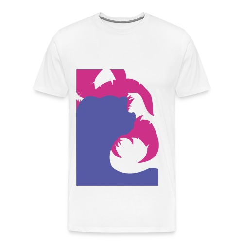 Hydreigon simple t-shirt - Herre premium T-shirt