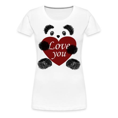 Panda love! - Women's Premium T-Shirt