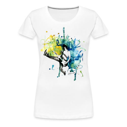 T-Shirt Music - Frauen Premium T-Shirt
