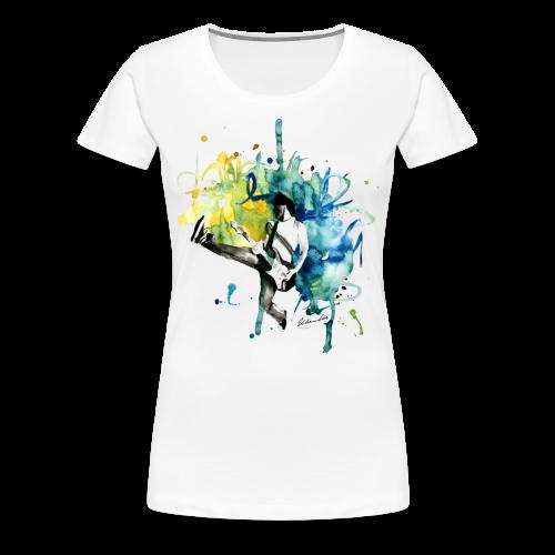 T-Shirt Music - Frauen Premium T-Shirt