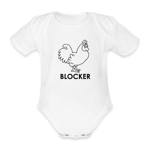 Cock Blocker - Baby Bio-Kurzarm-Body