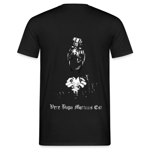 Halsfang - Vere Papa Mortuus Est - Horned Skull - male - T-shirt Homme