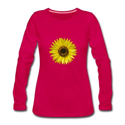 Frauen Langarmshirt Sonnenblume sunflower Sommer - Women's Premium Longsleeve Shirt