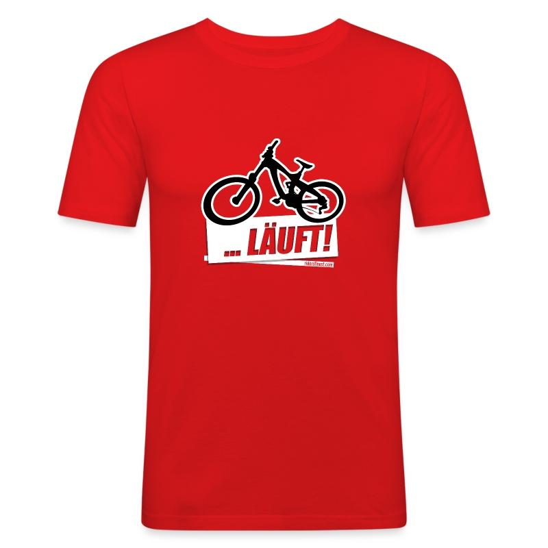 LAEUFT!  - Männer Slim Fit T-Shirt
