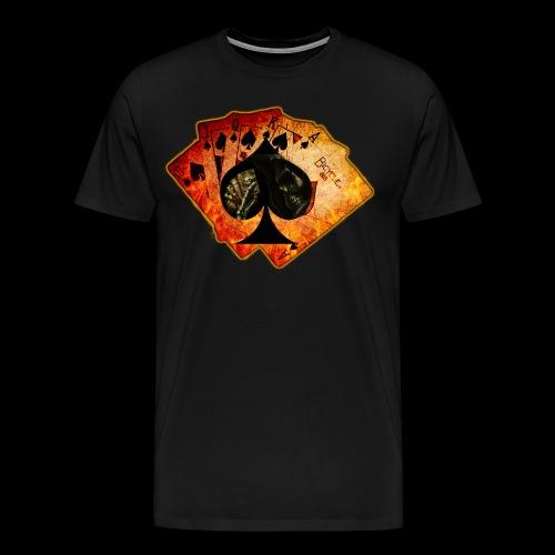 Men's Ace Cards T-Shirt - Men's Premium T-Shirt
