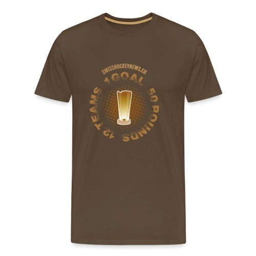 One Goal. - Men's Premium T-Shirt