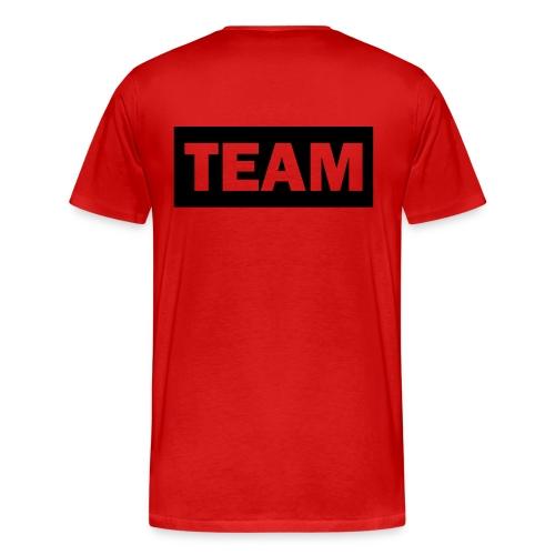 Männer Premium T-shirt  Team  - Männer Premium T-Shirt