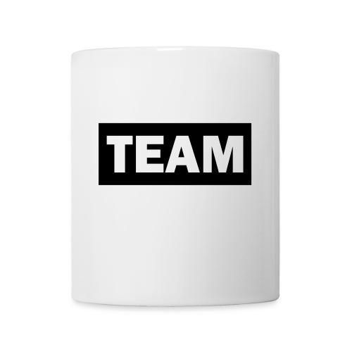 Weiße Tasse  Team  - Tasse