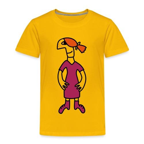 Little red head girl - Kids' Premium T-Shirt