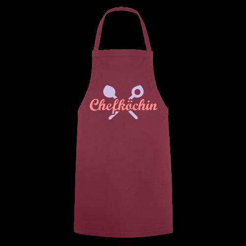 """Küchenschürze """"Chefköchin - Kochschürze"""
