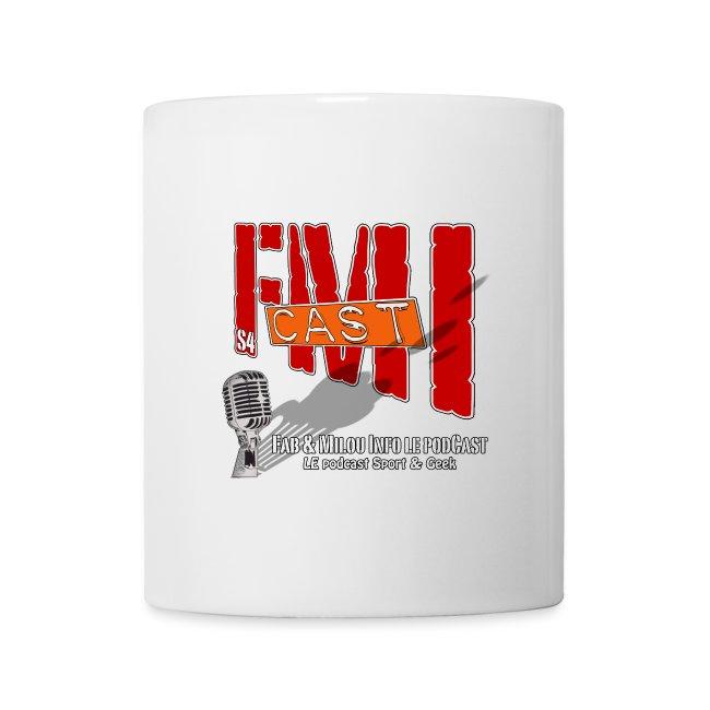 La tasse FMICast blanche