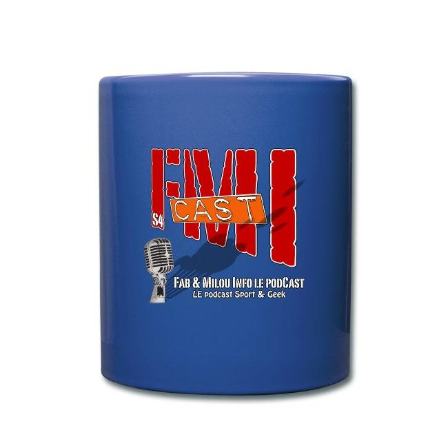 La tasse FMICast colorée