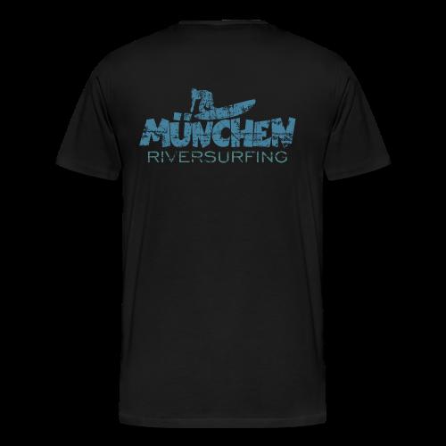 München Riversurfing T-Shirt - Männer Premium T-Shirt