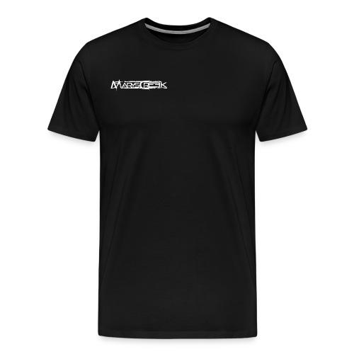 T-shirt Front + Big Logo Back - Premium-T-shirt herr