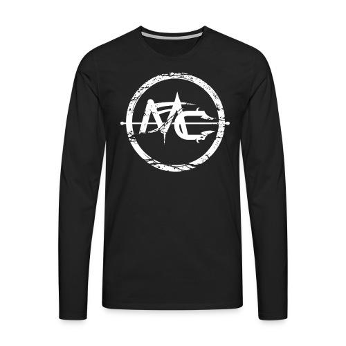 Longsleeve Front + Back - Långärmad premium-T-shirt herr