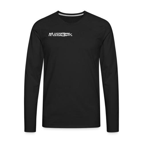 Longsleeve Front +Big Logo Back - Långärmad premium-T-shirt herr