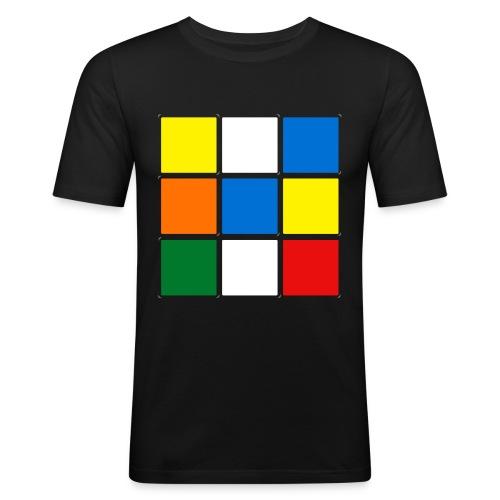 Kubes - Slimfit Shirt voor Mannen - slim fit T-shirt
