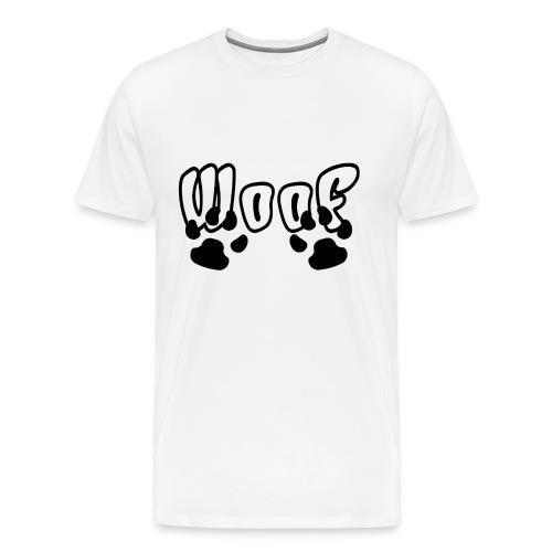 Pattes Woof Black - T-shirt Premium Homme
