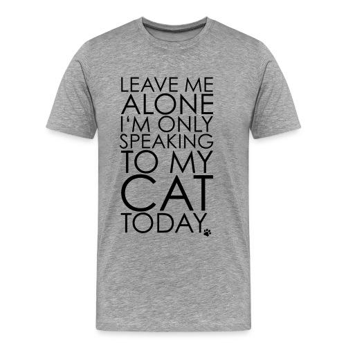 Kitty meow meow - Premium-T-shirt herr