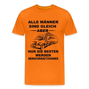 Alle BKF orange - Männer Premium T-Shirt