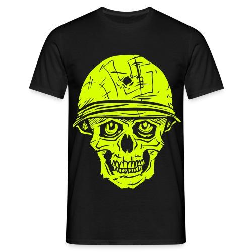 L5 Kallo - neon flex - nimellä takana - Miesten t-paita