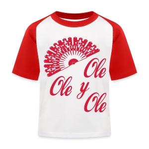 Ole,Ole y Ole - Camiseta béisbol niño