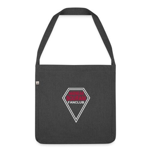 Tasche bouranifans.com beidseitig - Schultertasche aus Recycling-Material