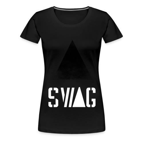Blvck T-Sthirt Premium - Frauen Premium T-Shirt