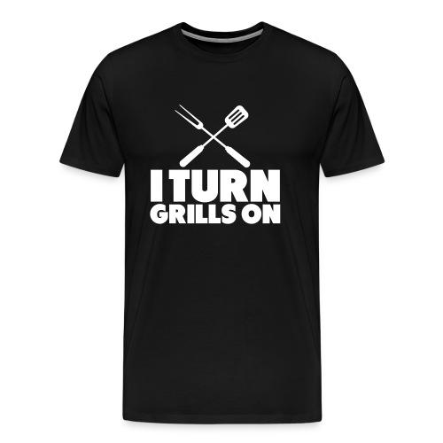 Grill tshirt - Mannen Premium T-shirt