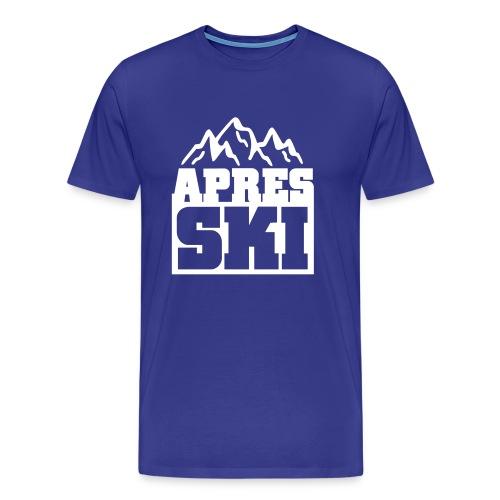 Apres Ski tshirt - Mannen Premium T-shirt