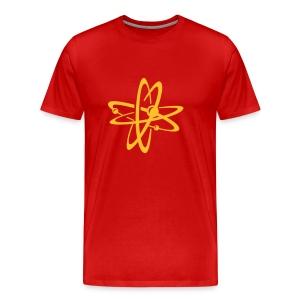Atoom tshirt - Mannen Premium T-shirt