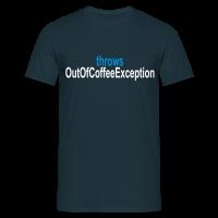 Coffee Exception Männer T-Shirt