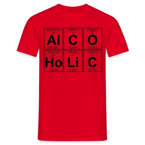 Camiseta de hombre AlCOHoLiC - Camiseta hombre