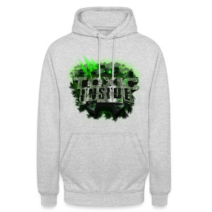 ToXic Inside Hoodie [White] [Add Your Own Text] - Unisex Hoodie