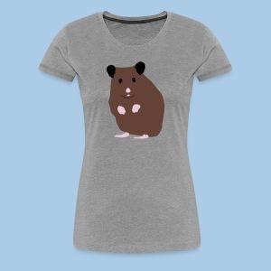 Naisten t-paita lk suklaa syyrialaisella - Naisten premium t-paita