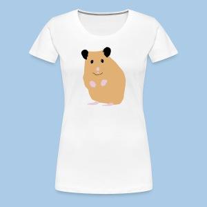 Naisten t-paita lk creme syyrialaisella - Naisten premium t-paita