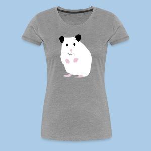 Naisten t-paita lk valkoisella syyrialaisella - Naisten premium t-paita