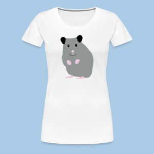 Naisten t-paita lk sinisellä syyrialaisella - Naisten premium t-paita