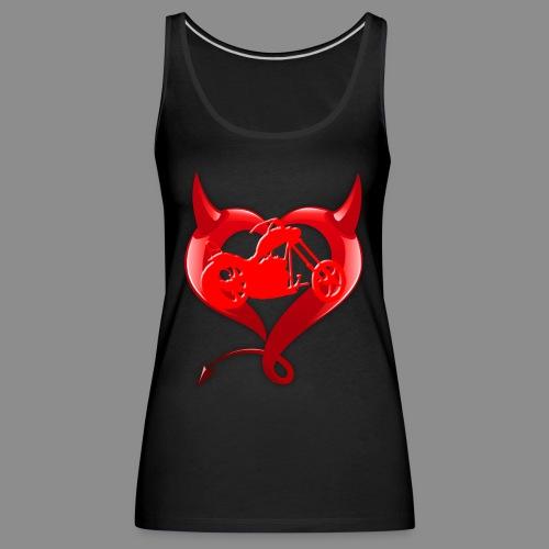 Devil Heart - Camiseta de tirantes premium mujer