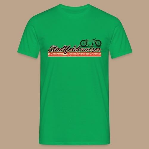 Stadtfeldcruiser Classic Männer T Shirt - Männer T-Shirt