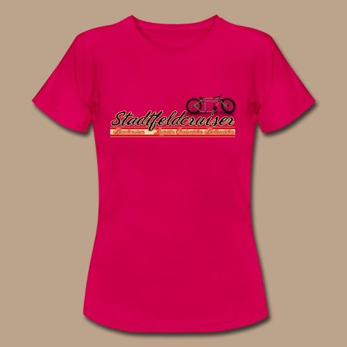 Stadtfeldcruiser Classic Frauen T Shirt - Frauen T-Shirt