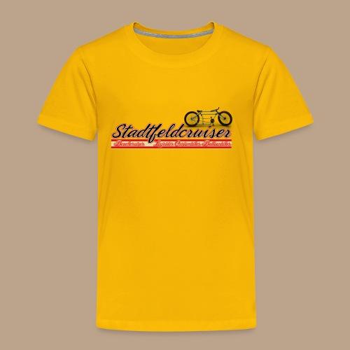 Stadtfeldcruiser Premium Kinder T Shirt - Kinder Premium T-Shirt