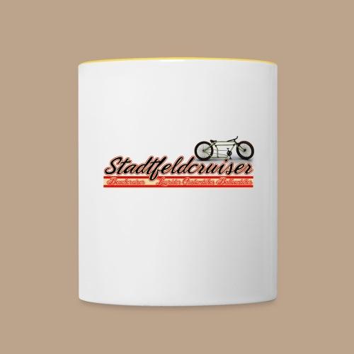 Stadtfeldcruiser Kaffeepott - Tasse zweifarbig