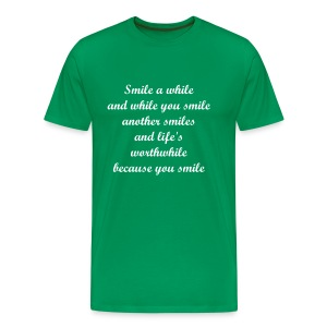 Smile a while - Men's Premium T-Shirt