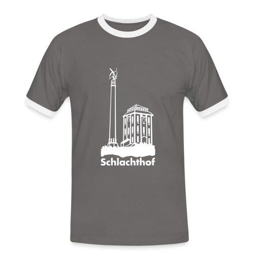 Windrad - Männer Kontrast-T-Shirt